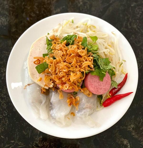 NSƯT Trịnh Kim Chi làm bánh cuốn nhìn hấp dẫn như mua ngoài hàng-6