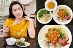 NSƯT Trịnh Kim Chi làm bánh cuốn nhìn hấp dẫn như mua ngoài hàng