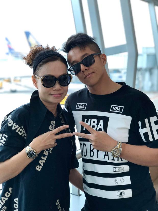 Mẹ của Matt Liu có bộ sưu tập túi hiệu chuẩn đại gia, xem chừng hợp cạ với con dâu tương lai Hương Giang quá đi thôi-1