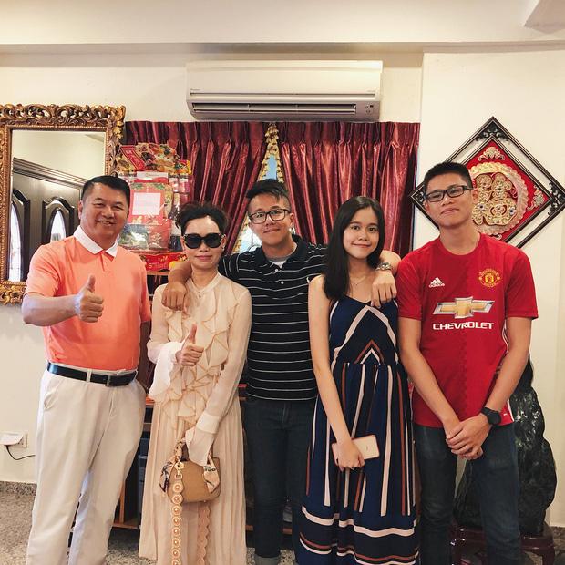 Mẹ của Matt Liu có bộ sưu tập túi hiệu chuẩn đại gia, xem chừng hợp cạ với con dâu tương lai Hương Giang quá đi thôi-4