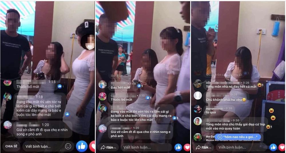 Cô gái tố bị MC đám cưới lén quay video phát trên mạng xã hội-1