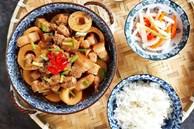 Cơm nhiều thêm đậm đà với món thịt ba chỉ kho măng