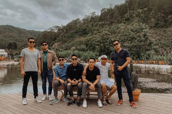Team bạn thân 'cực phẩm' của doanh nhân Matt Liu