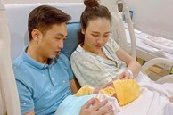 Đàm Thu Trang chính thức lộ diện sau khi hạ sinh ái nữ, Cường Đô La liền nhắn nhủ vợ đầy xúc động!