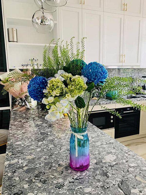 Vân Hugo đón con trai vào Sài Gòn ở biệt thự, trồng nhiều loại hoa quanh nhà vì hôn phu-7