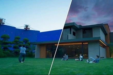 Cảnh phim 'Ký sinh trùng' trước và sau khi dùng kỹ xảo