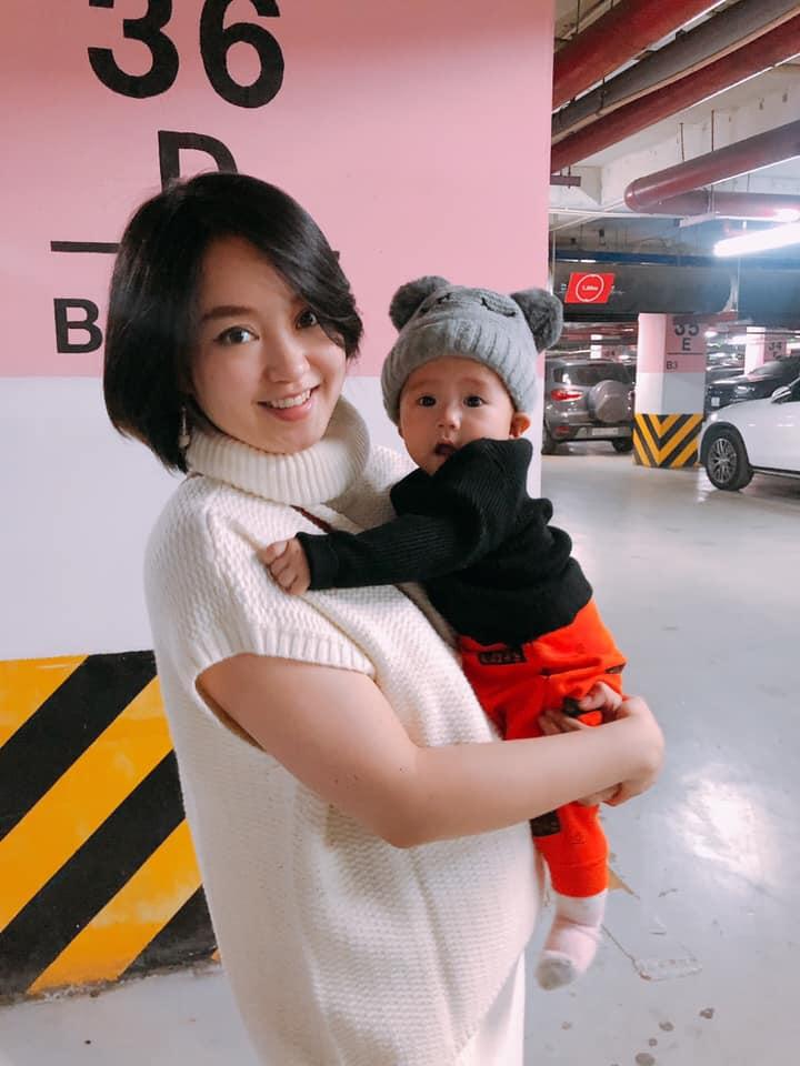 Hot mom Mi Vân đẻ xong 1 năm vẫn ục ịch, nhờ cách này chỉ hơn 1 tuần đã về dáng thành công-4