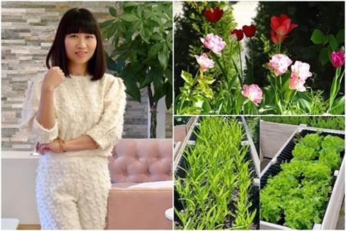 Mẹ Việt biến vườn cỏ dại thành thiên đường bên Tây, hàng xóm phấn khích sang tận nhà khen-1