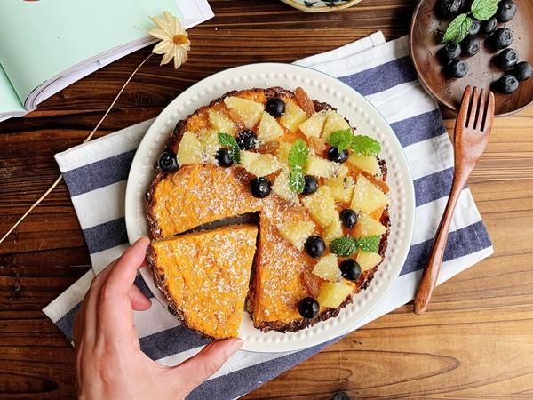 Hội ăn kiêng giảm cân mà thèm bánh thì bơi hết vào đây có món bánh này siêu ngon, ăn cả ngày cũng không lo tăng cân!-6
