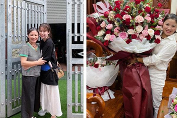 Bạn gái cầu thủ Quang Hải tặng món quà khủng cho mẹ chồng tương lai - mega 645