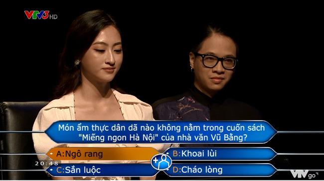 Hoa hậu Lương Thùy Linh chạm tới câu hỏi 40 triệu của Ai là triệu phú nhưng lại mất trắng 8 triệu vì tin lời bạn-6