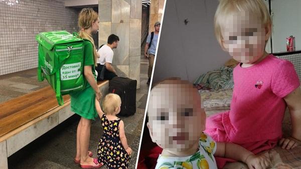 Bức ảnh bà mẹ 19 tuổi tha 2 con đi làm chuyển phát nhanh gây tranh cãi dữ dội trên MXH, drama phía sau càng gây nhức nhối-3