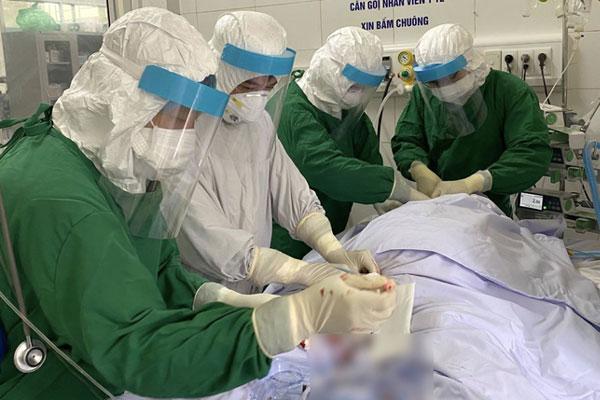 Tình trạng bệnh nhân được chạy ECMO đầu tiên ở Đà Nẵng