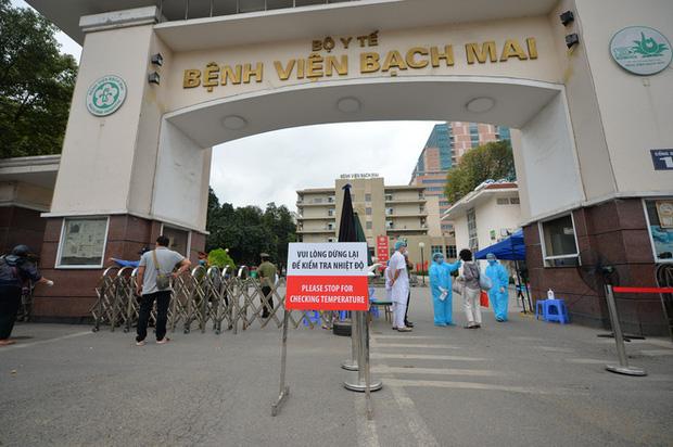 Bệnh viện Bạch Mai lên tiếng về thông tin có ca bệnh dương tính-1