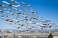 Ngoạn mục hàng trăm máy bay cất cánh cùng lúc như thể 'tắc đường hàng không' cùng loạt khoảnh khắc ở sân bay khiến ai cũng há hốc