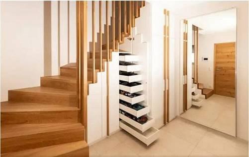 Các kiểu cầu thang gỗ đẹp và hiện đại, nhà có tiền phải làm ngay-4