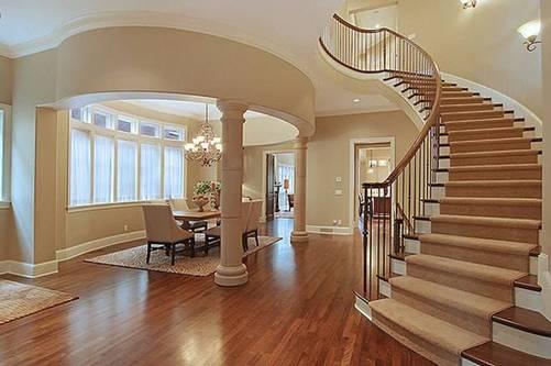 Các kiểu cầu thang gỗ đẹp và hiện đại, nhà có tiền phải làm ngay-12