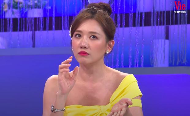 Hari Won bất ngờ lên tiếng về tin đồn Trấn Thành là người thứ ba chen vào mối tình 9 năm giữa cô với Tiến Đạt trên sóng truyền hình-2