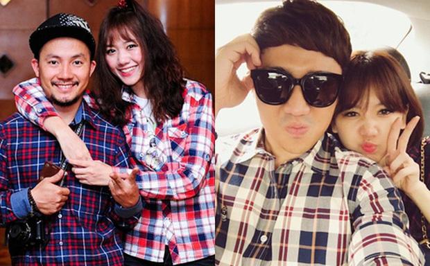 Hari Won bất ngờ lên tiếng về tin đồn Trấn Thành là người thứ ba chen vào mối tình 9 năm giữa cô với Tiến Đạt trên sóng truyền hình-1