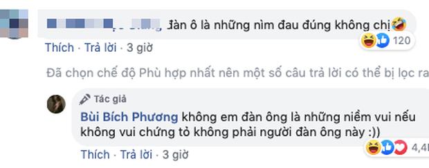 Bích Phương - Quỳnh Thư gây chú ý khi nói về kẻ phụ bạc: Đàn ông là niềm vui, nhưng không vui thì không phải người đàn ông này-2