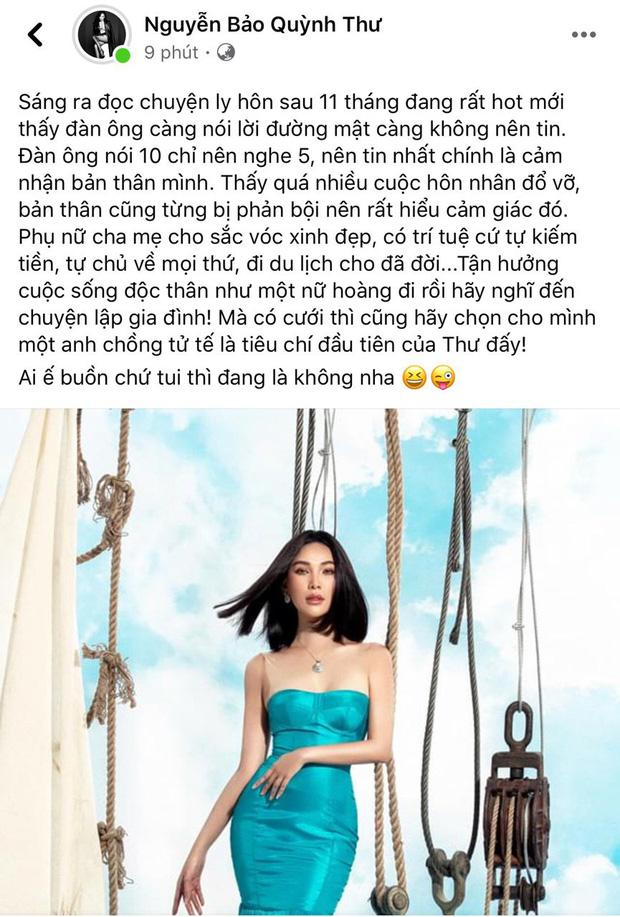 Bích Phương - Quỳnh Thư gây chú ý khi nói về kẻ phụ bạc: Đàn ông là niềm vui, nhưng không vui thì không phải người đàn ông này-5