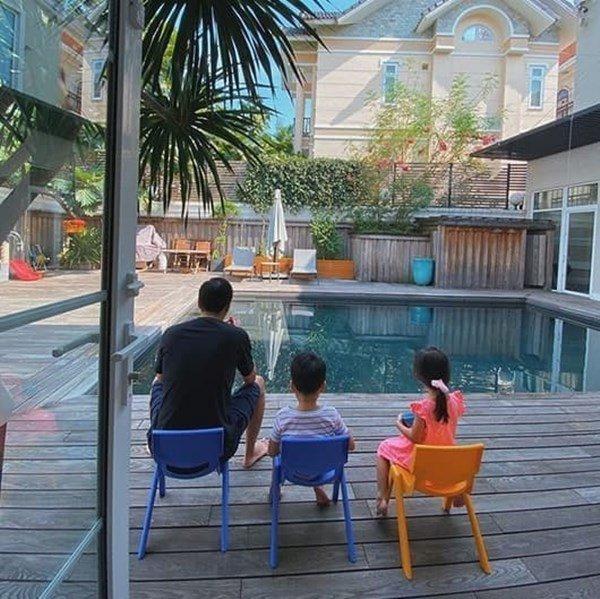 """Khám phá bên trong khu biệt thự nhà chồng Tăng Thanh Hà, nhìn vào ai cũng phải kêu lên quá sang""""-3"""