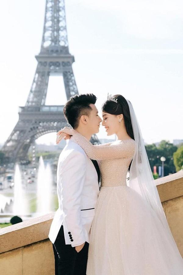 Từng là nàng công chúa được nâng niu trong đám cưới xa hoanhưng cuối cùng Âu Hà My vẫn bị chồng bạc bẽo phụ tình-2