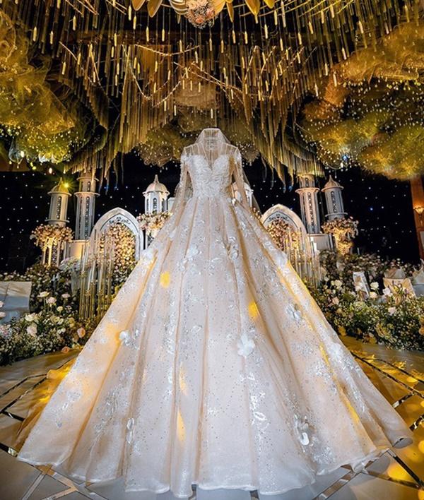 Từng là nàng công chúa được nâng niu trong đám cưới xa hoanhưng cuối cùng Âu Hà My vẫn bị chồng bạc bẽo phụ tình-6