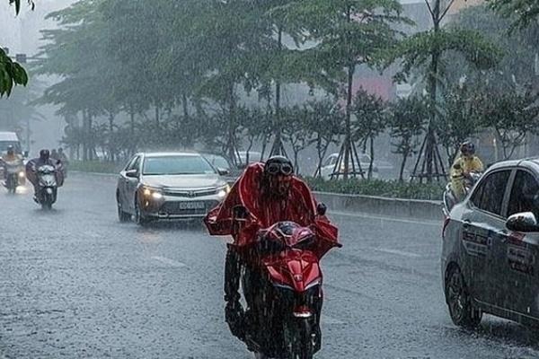 Dự báo thời tiết 14/8, Hà Nội mưa rào-1
