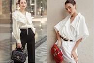 7 cách diện áo blouse trắng của Lan Ngọc: Từ sexy mà vẫn tinh tế cho đến khéo giấu bắp tay to đều đủ cả