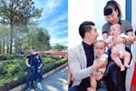 Cặp song sinh siêu đẹp nhờ gen của mẫu nam 9X Trương Nam Thành và nữ đại gia U50