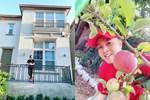 Vừa về được nhà, Nhật Tinh Anh khoe khu vườn trong biệt thự triệu đô ở Mỹ