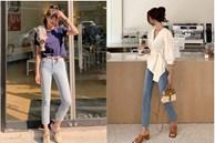 Mix 5 kiểu áo này với quần skinny jeans, chị em sẽ không bao giờ thất bại trong chuyện mặc đẹp và tôn dáng
