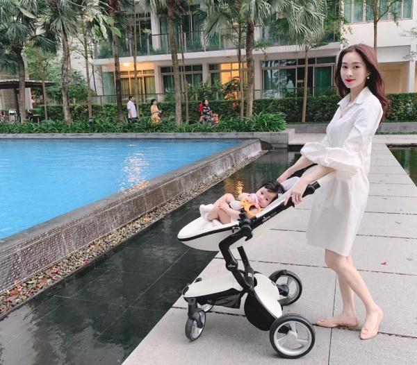 Điểm đặc biệt trên gương mặt con mới chào đời của Hoa hậu Đặng Thu Thảo đẹp không thể tả-4