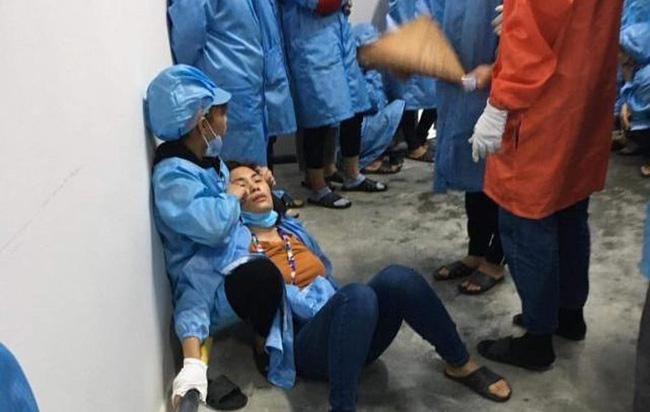Nhiều công nhân ngất xỉu khi đang làm việc tại xưởng lắp ráp điện tử trong KCN đã từng xảy ra sự việc tương tự-1