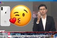Việt Hoàng - 'vựa muối' của VTV nhắc đến ai đó thủ thỉ rồi hôn chùn chụt vào điện thoại, dân chơi TikTok ôm bụng cười