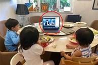 Chỉ 1 chi tiết trong bức ảnh ăn sáng của 3 đứa trẻ mà dân mạng 'phát cuồng' vì cách giáo dục con của bà mẹ nổi tiếng