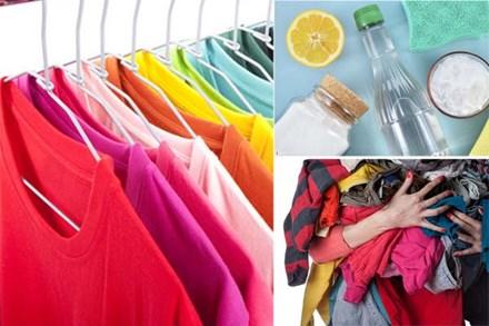 6 cách tẩy vết mốc lâu ngày trên quần áo màu đơn giản mà hiệu quả
