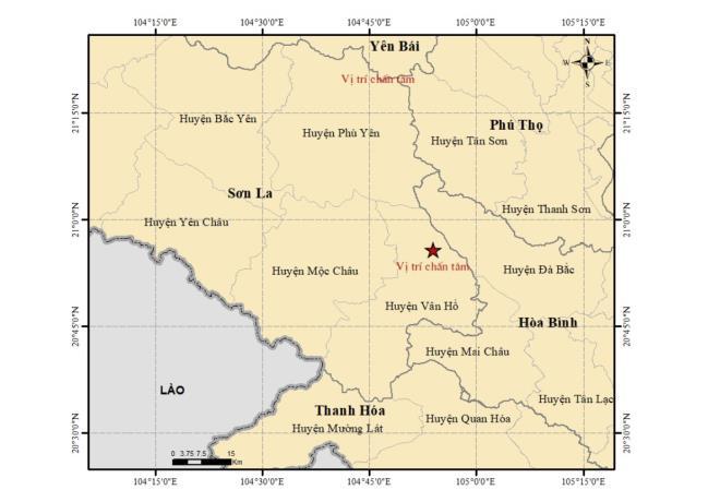 Động đất 4.3 độ ở Sơn La, nhà cao tầng Hà Nội rung nhẹ-1