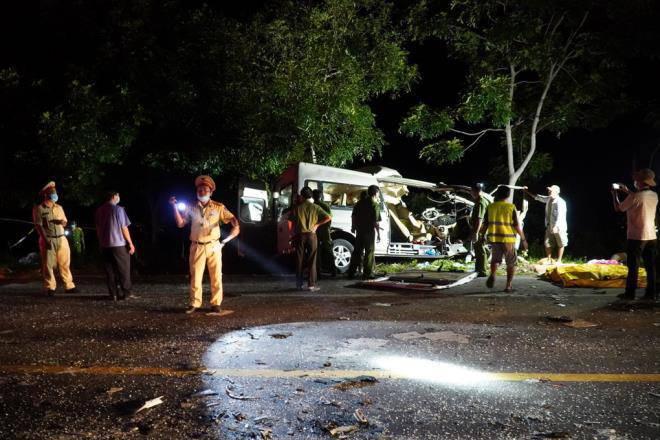 Danh tính bất ngờ của tài xế lái xe khách gây tai nạn làm 8 người chết ở Bình Thuận-1