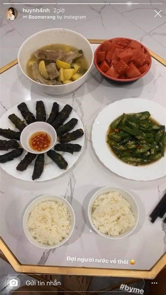 Bạn gái Quang Hải khoe loạt mâm cơm tự nấu đúng chuẩn gái đảm-1