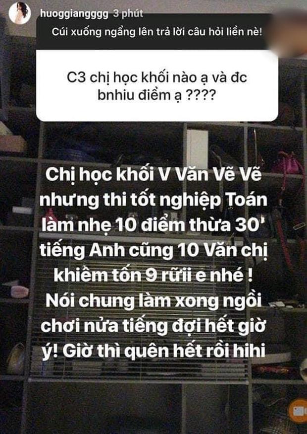 Hương Giang khoe điểm tốt nghiệp cấp 3 khủng, tiếng Anh thế này chẳng trách tự tin khi thi HH Chuyển giới Quốc tế 2018-1