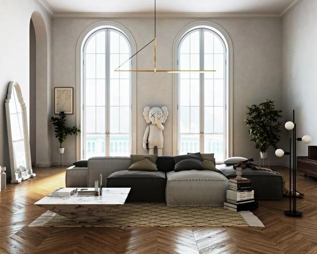 52 mẫu thiết kế phòng khách đẹp từng chi tiết năm 2020 bạn không nên bỏ qua-16