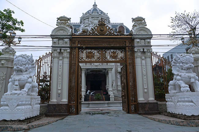 Xã giàu có ở Việt Nam, biệt thự không hiếm, có lâu đài xây 9 năm tốn hàng chục tỷ-8