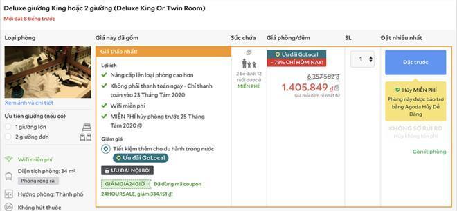 Giá phòng khách sạn 5 sao ở Hà Nội giảm kịch sàn-2
