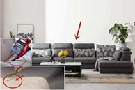 Mách bạn 6 mẹo làm sạch sofa vải mà không phải tháo lắp và giặt giũ phiền phức