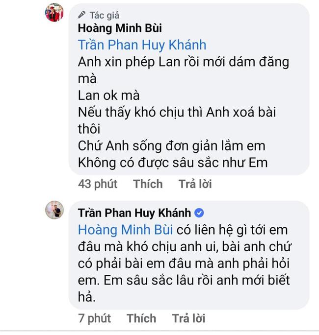 Diễn viên Huy Khánh và Hoàng Mập tranh cãi vì bài đăng liên quan tới Ngọc Lan cùng Thanh Bình-4