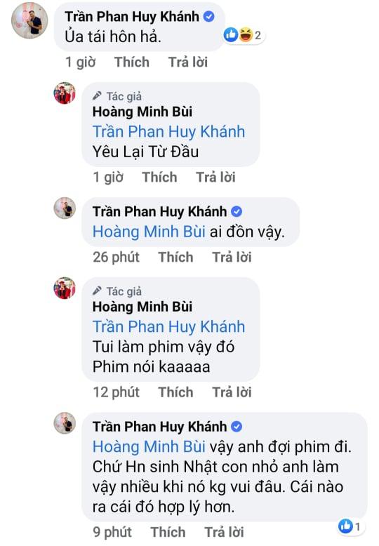 Diễn viên Huy Khánh và Hoàng Mập tranh cãi vì bài đăng liên quan tới Ngọc Lan cùng Thanh Bình-3