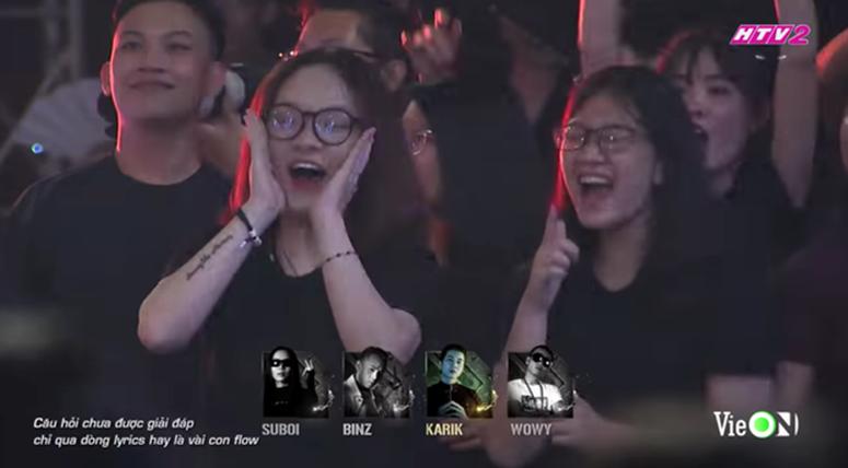 Cô gái xuất hiện nhiều nhất Rap Việt dù không phải thí sinh, dân tình nghi anh quay phim crush chị này-2