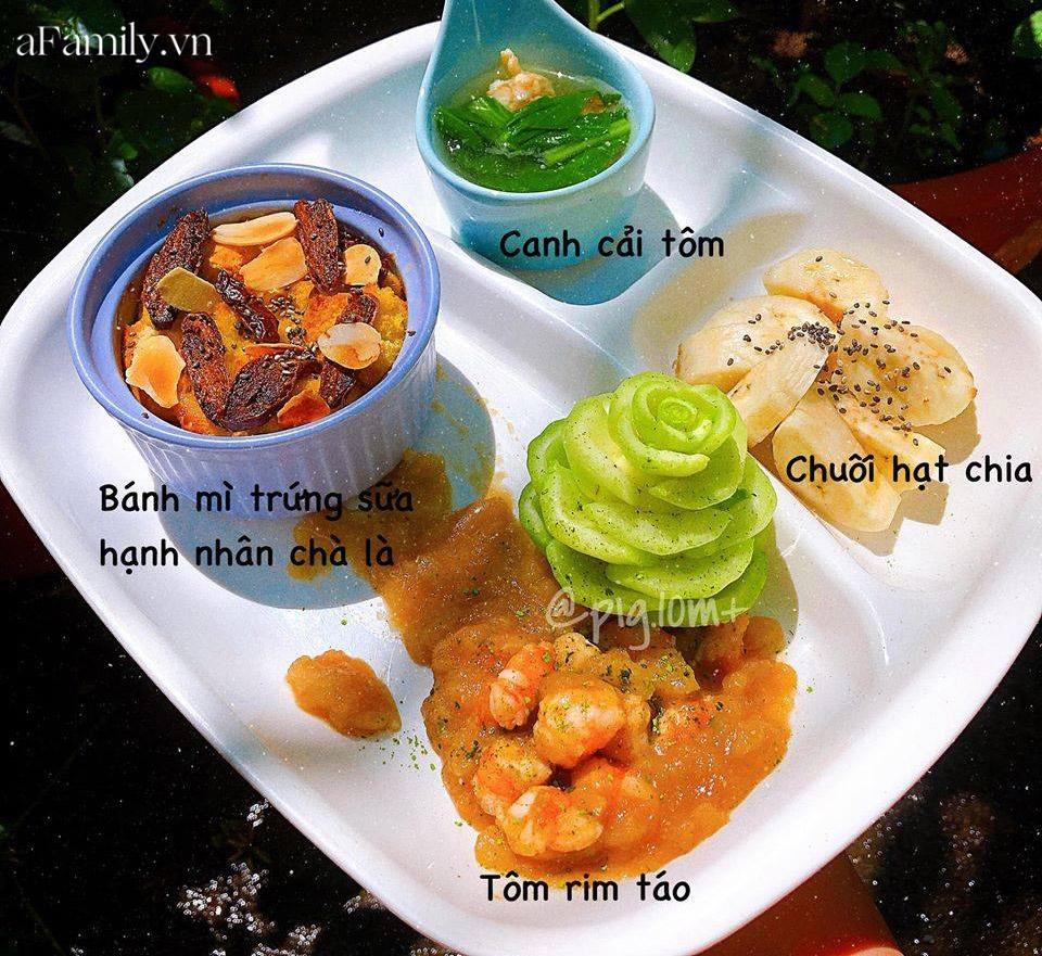 """Mẹ Quảng Nam khoe thực đơn ăn dặm cho con nhìn như nhà hàng 5 sao, bé 11 tháng đã ăn cả thế giới"""" nhờ bí quyết đặc biệt-6"""